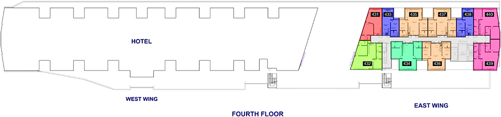 The Yacht Club, Floor Plans